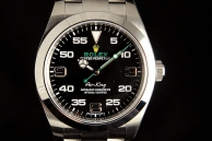 ROLEX AYR king new model Acciaio 116900