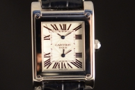CARTIER TANK PARIS DUAL TIME COLLECTION PRIVEE Oro 2552