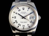 ROLEX   OYSTER DATE Acciaio 115200