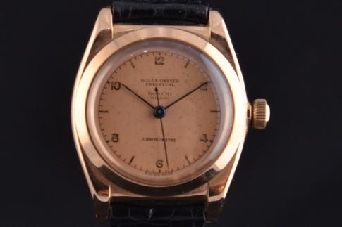 negozio online 8e42a 0d553 Rolex ovetto Ronchi Milano Oro rosa 1950. Spedizione ...