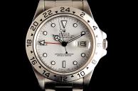 Rolex Explorer II Cream Dial Acciaio 16550