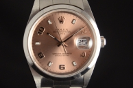 Rolex oyster date Acciaio 15200