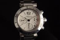 Cartier Pasha Seatimer Chronograph Acciaio 31089