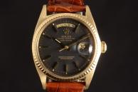 Rolex daydate black dial Oro 1803