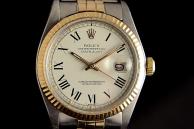 rolex datejust vintage Acciaio e oro 1601
