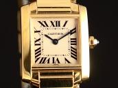 Cartier tank francese donna come nuovo Oro c002