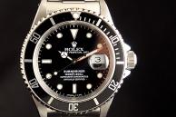 Rolex submariner data Acciaio 16610