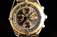Breitling cronomat automatic Acciaio e oro b34