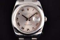 Rolex date just RISERVATO Acciaio 116200