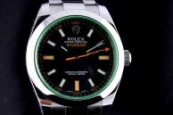 Rolex Milgauss vetro verde VENDUTO Acciaio 116400GV