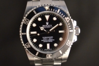 ROLEX SUBMARINER NO DATA VENDUTO Acciaio 114060