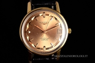Longines Conquest Vintage Pink Gold Oro rosa lo1